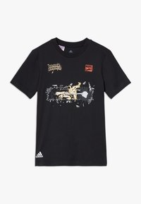 adidas Performance - MARVEL PAN - Camiseta estampada - black - 0
