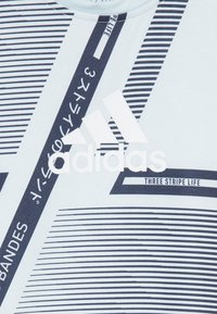 adidas Performance - TEE - T-shirt sportiva - skytin/legink/white - 3
