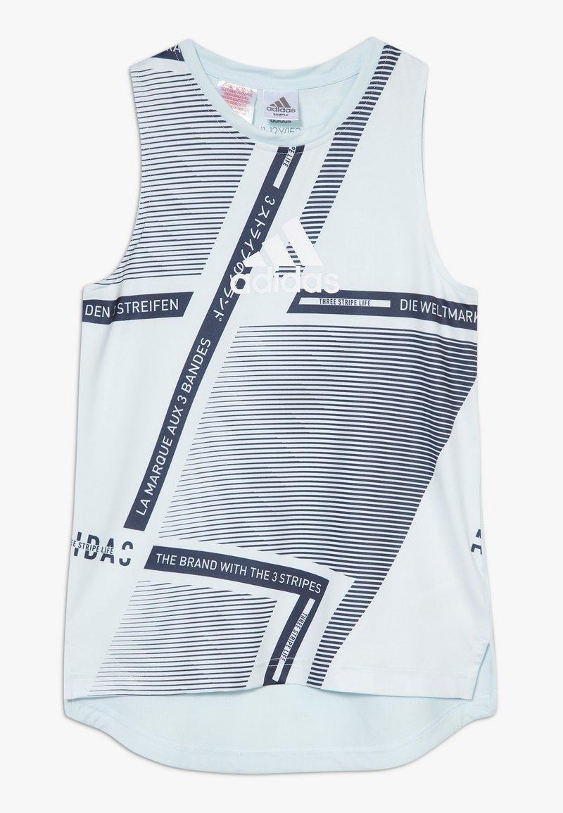 adidas Performance - TEE - T-shirt sportiva - skytin/legink/white