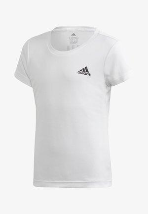 AEROREADY T-SHIRT - Printtipaita - white