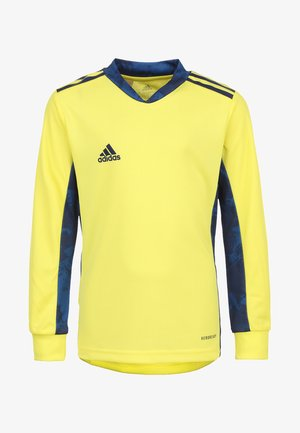 ADIPRO  - Keepers T-shirt - yellow/navy blue