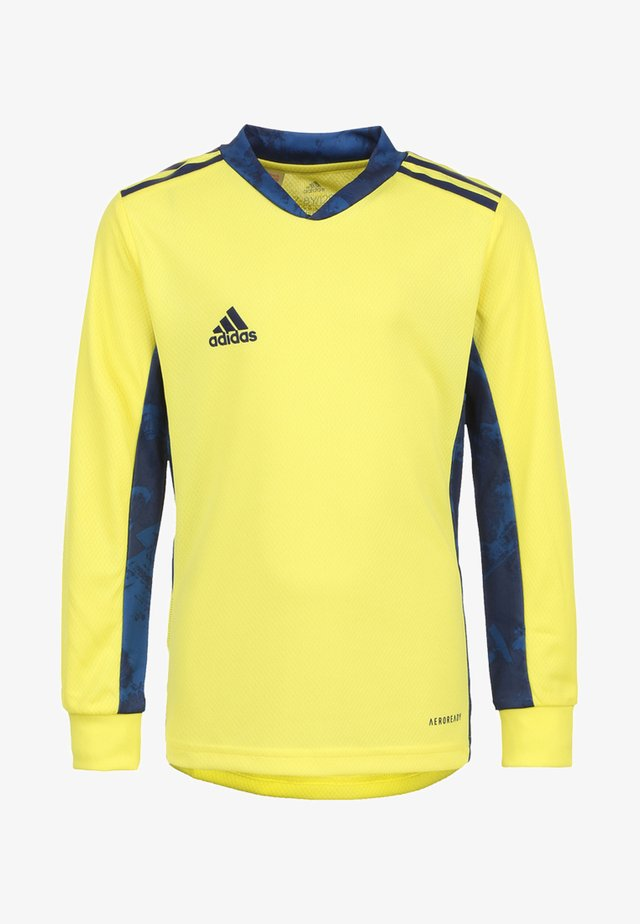 ADIPRO  - Goalkeeper shirt - yellow/navy blue