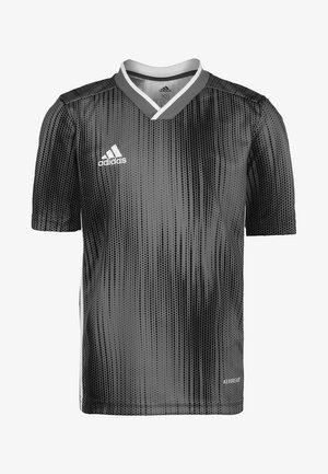 TIRO 19 FUSSBALLTRIKOT KINDER - Print T-shirt - grey
