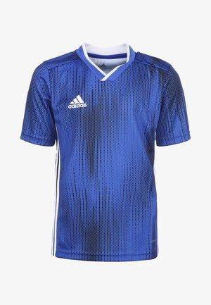 TIRO 19 FUSSBALLTRIKOT KINDER - Print T-shirt - bold blue/white