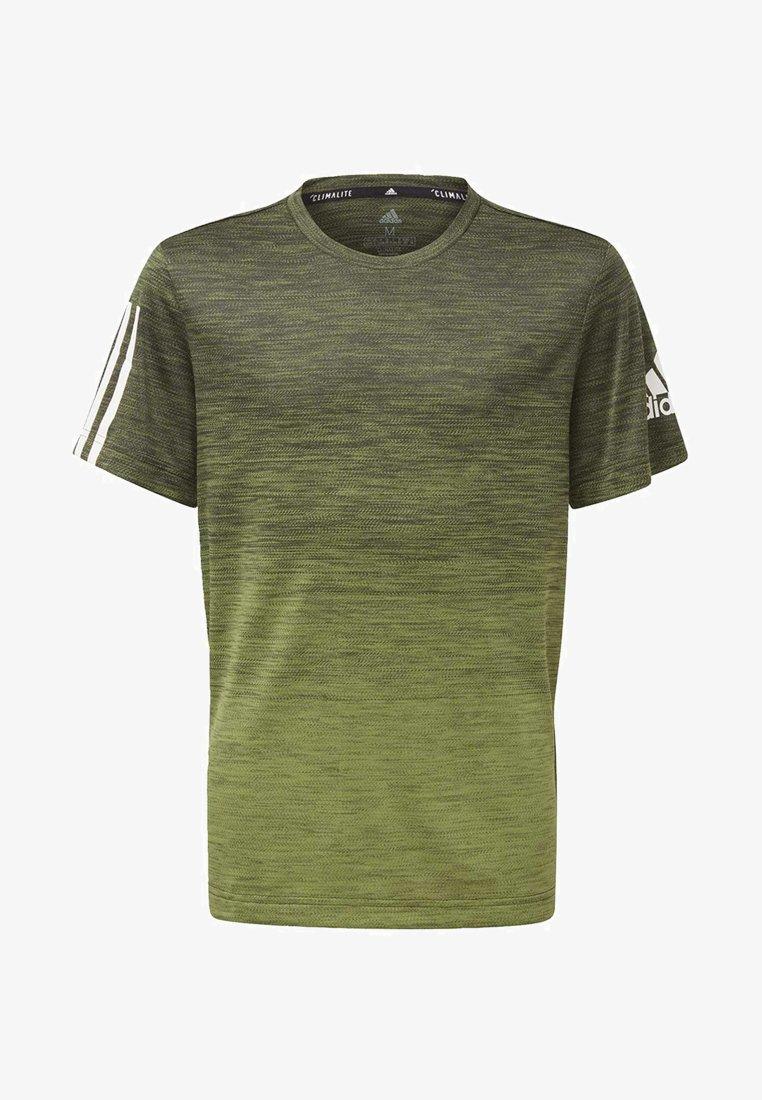 adidas Performance - GRADIENT T-SHIRT - T-Shirt print - green