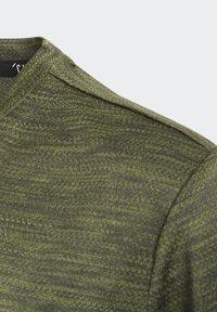 adidas Performance - GRADIENT T-SHIRT - T-Shirt print - green - 4