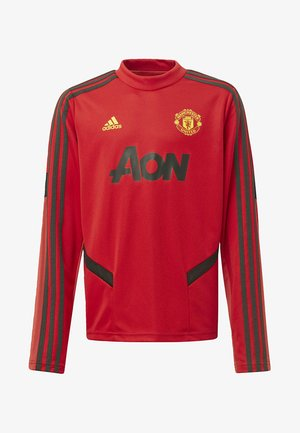 2019-12-01 MANCHESTER UNITED TRAINING TOP - Pullover - red