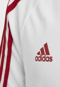 adidas Performance - ARSENAL TRAINING JERSEY - T-shirt imprimé - white/red - 3