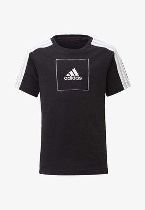 ADIDAS ATHLETICS CLUB T-SHIRT - Print T-shirt - black
