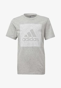 adidas Performance - MUST HAVES BADGE OF SPORT - T-shirt con stampa - grey - 0