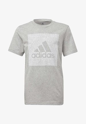 MUST HAVES BADGE OF SPORT - T-shirt imprimé - grey