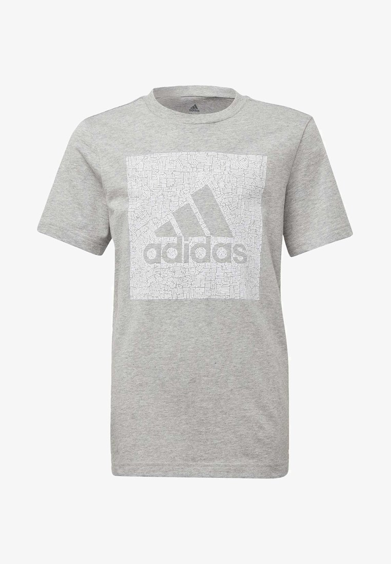 adidas Performance - MUST HAVES BADGE OF SPORT - T-shirt con stampa - grey
