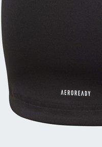 adidas Performance - ALPHASKIN T-SHIRT - T-shirt print - black - 3