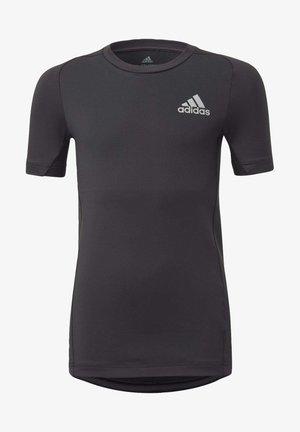 ALPHASKIN T-SHIRT - T-shirt imprimé - black