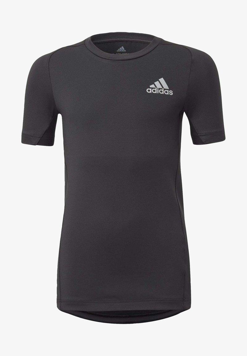 adidas Performance - ALPHASKIN T-SHIRT - T-shirt print - black