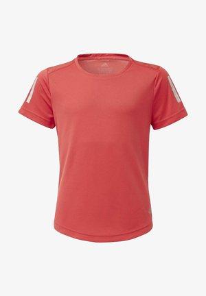 OWN THE RUN T-SHIRT - T-Shirt print - glory red