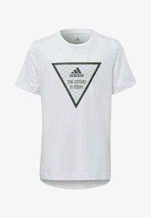 XFG T-SHIRT - T-shirt print - white
