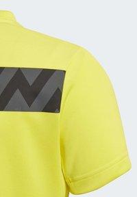 adidas Performance - XFG T-SHIRT - T-shirt con stampa - yellow - 4