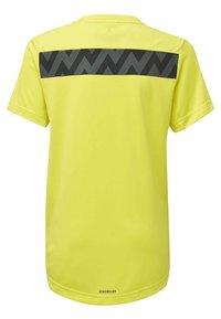 adidas Performance - XFG T-SHIRT - T-shirt con stampa - yellow - 1
