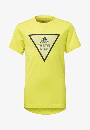 XFG T-SHIRT - T-shirts med print - yellow