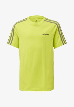 ESSENTIALS 3-STRIPES T-SHIRT - T-shirt print - green
