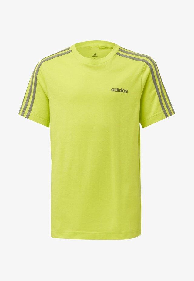 ESSENTIALS 3-STRIPES T-SHIRT - T-shirt imprimé - green