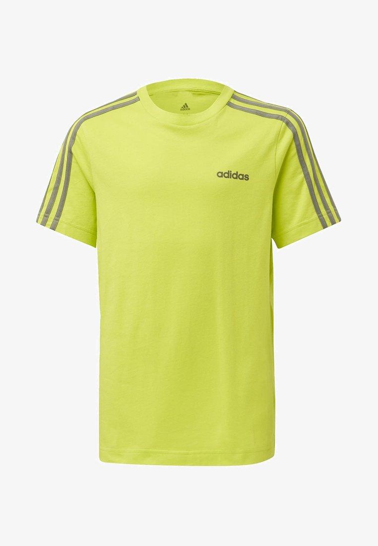 adidas Performance - ESSENTIALS 3-STRIPES T-SHIRT - T-shirt imprimé - green