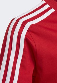 adidas Performance - ESSENTIALS 3-STRIPES T-SHIRT - T-shirt print - red/white - 4