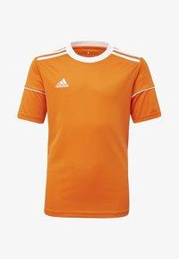 adidas Performance - SQUADRA 17 JERSEY - T-shirt print - orange - 0
