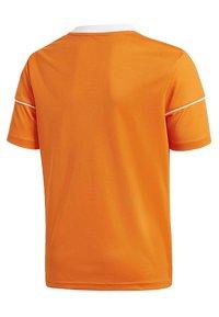 adidas Performance - SQUADRA 17 JERSEY - T-shirt print - orange - 2