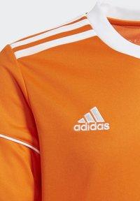 adidas Performance - SQUADRA 17 JERSEY - T-shirt print - orange - 5