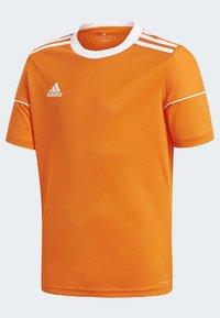 adidas Performance - SQUADRA 17 JERSEY - T-shirt print - orange - 3