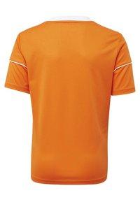 adidas Performance - SQUADRA 17 JERSEY - T-shirt print - orange - 1