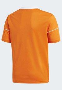 adidas Performance - SQUADRA 17 JERSEY - T-shirt print - orange - 4
