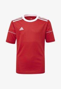 adidas Performance - SQUADRA 17 JERSEY - T-Shirt print - red - 0