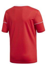 adidas Performance - SQUADRA 17 JERSEY - T-Shirt print - red - 2