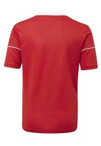 adidas Performance - SQUADRA 17 JERSEY - T-Shirt print - red - 1