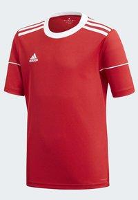 adidas Performance - SQUADRA 17 JERSEY - T-Shirt print - red - 3