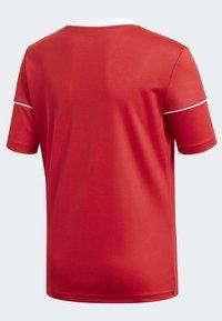 adidas Performance - SQUADRA 17 JERSEY - T-Shirt print - red - 4