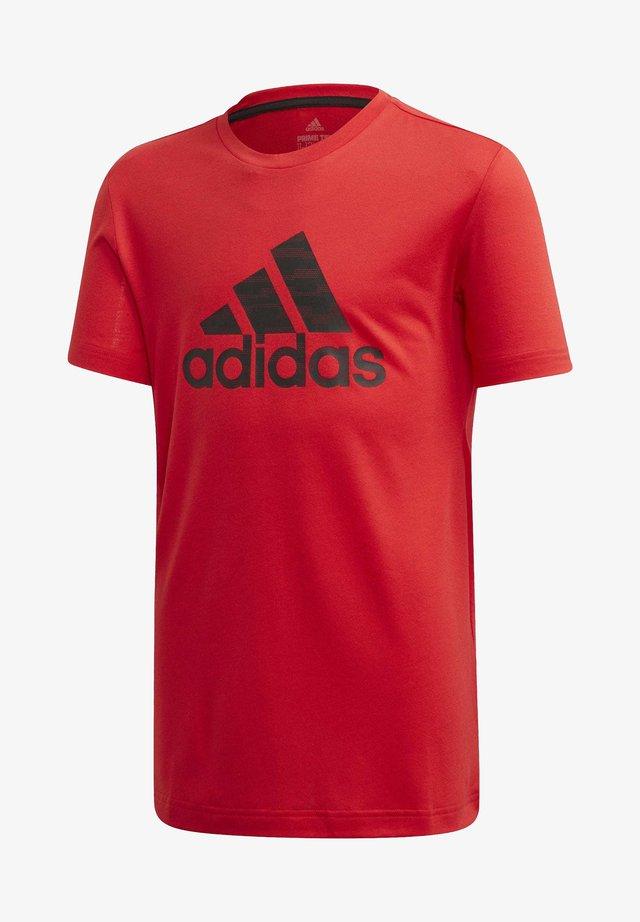 PRIME T-SHIRT - T-shirt print - red
