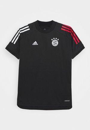 FC BAYERN MÜNCHEN TEAMLINE - Klubové oblečení - black/fcbtru