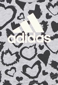 adidas Performance - TEE - T-shirt con stampa - mottled grey - 2