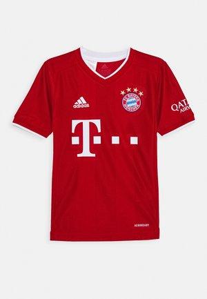 FC BAYERN MUENCHEN AEROREADY FOOTBALL - Klubové oblečení - red