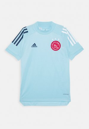 AJAX AMSTERDAM AEROREADY FOOTBALL JERSEY - Sports shirt - light blue