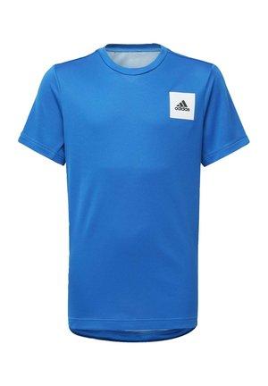 AEROREADY T-SHIRT - T-shirt print - blue