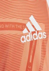 adidas Performance - TANK TOP - Sportshirt - orange - 2
