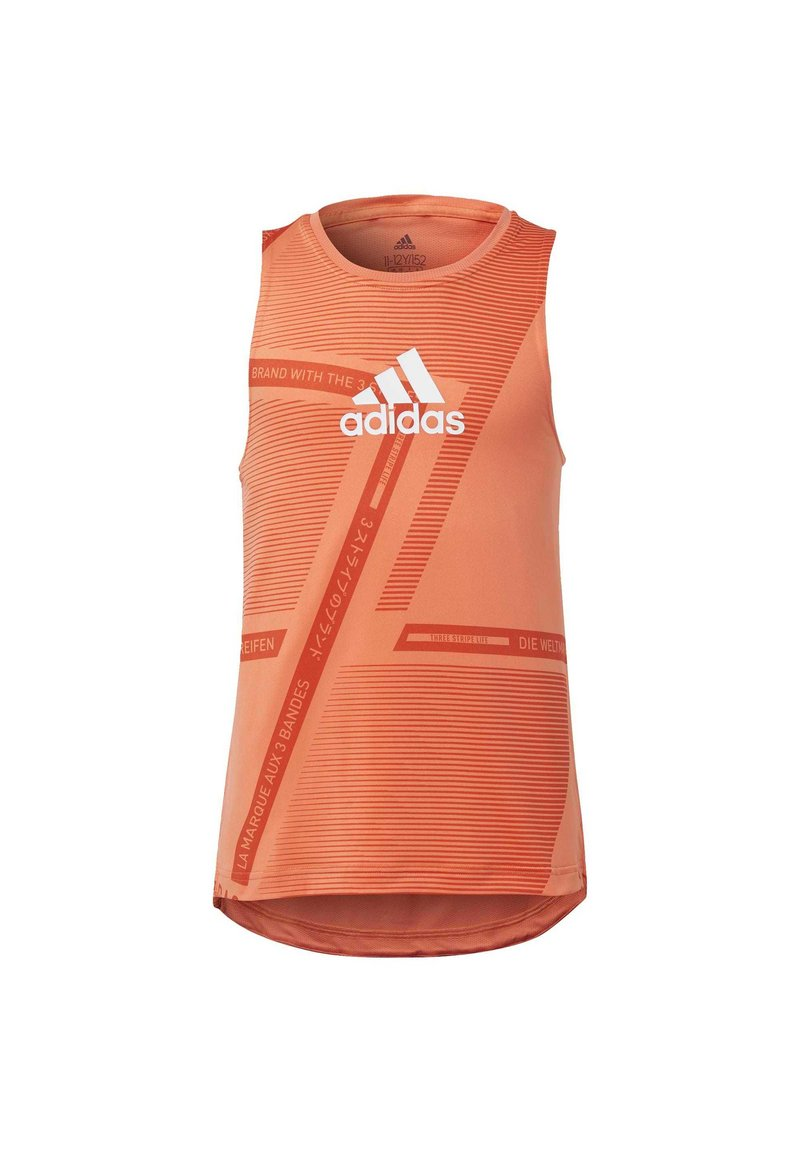adidas Performance - TANK TOP - Sportshirt - orange