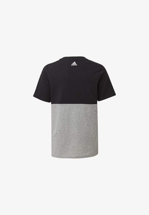 LINEAR COLORBLOCK T-SHIRT - T-shirt con stampa - black