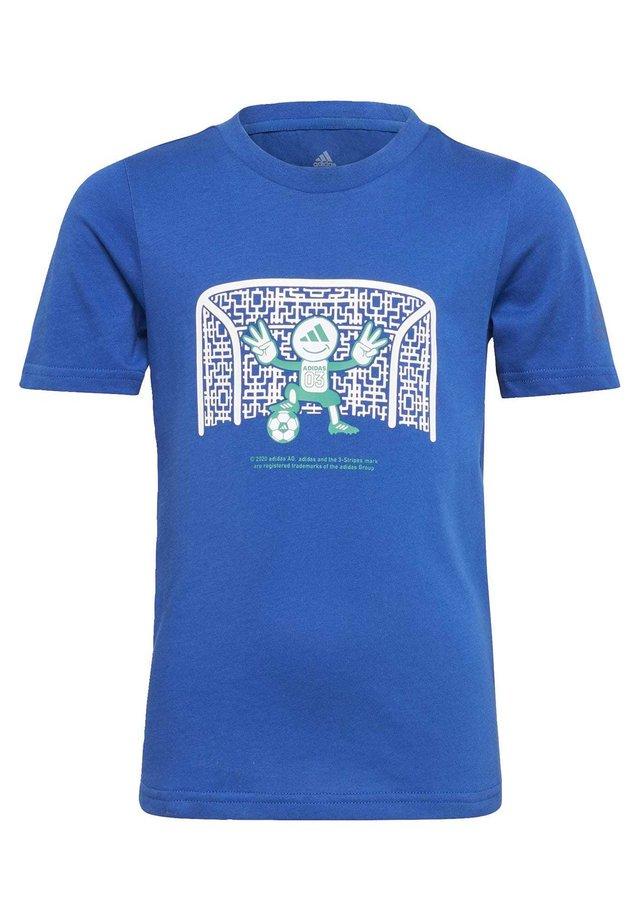 COTTON T-SHIRT - T-Shirt print - blue