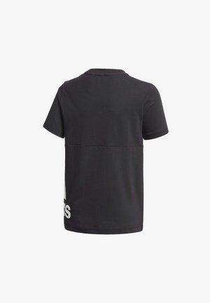 MUST HAVES BIG LOGO T-SHIRT - Printtipaita - black